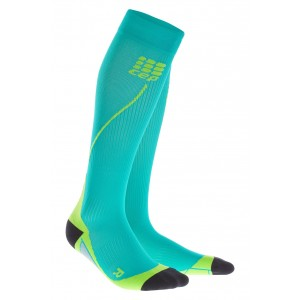 Sosete Compresie CEP Progressive+ Compression Run 2.0 M Turcoaz / Lime