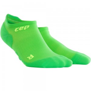 Sosete Alergare CEP Dynamic+ Run Ultralight No-Show M Verde / Verde