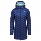 Haina Puf Femei The North Face Trevail Parka Flag Blue (Bleumarin)