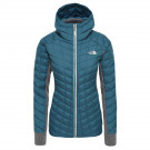 Geaca Drumetie Femei The North Face Thermoball Hybrid Gordon Lyons Hoodie Blue Coral/Tnfmgh (Bleumarin)