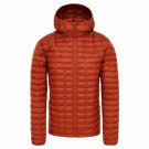 Geaca Drumetie Barbati The North Face Thermoball Eco Hoodie Picante Red Mat (Portocaliu)