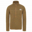 Polar Drumetie Barbati The North Face Gordon Lyons 1/4 British Khaki Heather (Maro)