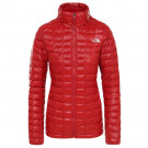 Geaca Drumetie Femei The North Face Thermoball Eco Jkt Cardinal Red (Rosu)