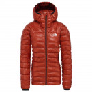 Geaca Puf Drumetie Femei The North Face Summit L3 Down Hoodie Picante Red/Pic (Caramiziu)