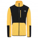 Polar Drumetie Barbati The North Face Glacier Pro Full Zip Tnf Yellow/Tnf Black (Galben)