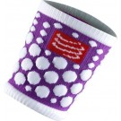 Mansete Compressport SweatBand Dots Fluo Mov