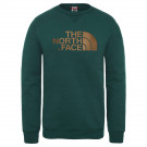 Bluza Barbati The North Face Drew Peak Crew Night Green (Verde)