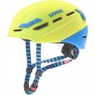 Casca Ski si Snowboard Unisex Uvex P.8000 Tour Lime-Blue Mat (Lime)