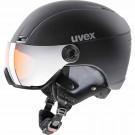 Casca Ski si Snowboard Unisex Uvex Hlmt 400 Visor Style OTG Black Mat (Negru)
