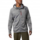 Polar Barbati Columbia Outdoor Elements Hooded Full Zip Gri
