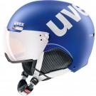 Casca Ski si Snowboard Unisex Uvex Hlmt 500 Visor Cobalt-Wh Mat (Albastru)