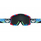 Ochelari schi si snowboard Dragon D1 Future / Dark Smoke + Ionized