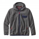 Hanorac Barbati Hiking Patagonia Lightweight Synchilla Snap-T Hoody Gri / Bleumarin