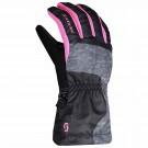 Manusi Ski Copii Scott Jr Ultimate Black/Pink