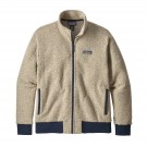Polar Barbati Hiking Patagonia Woolyester Fleece Crem