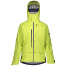 Geaca Ski Barbati Scott Vertic 3L Lime Yellow