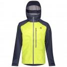 Geaca Ski Barbati Scott Explorair 3L Blue Nightsime Yellow