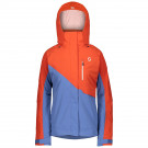Geaca Ski Femei Scott Ultimate Dryo 10 Grenadine Orange/Riverside Blue