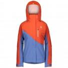 Geaca Ski Femei Scott Ultimate Dryo 10 Grenadine Orange/Riverside Blue