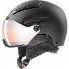 Casca Ski si Snowboard Unisex Uvex Hlmt 600 Visor Black Mat (Negru)