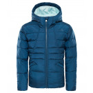 Geaca Fete Hiking The North Face Moondoggy 2.0 Down Hoodie Bleumarin