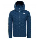 Geaca Fete Hiking The North Face Thermoball Hoodie Bleumarin