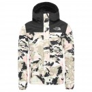 Geaca Drumetie Copii The North Face Girl Resolve Reflective Jacket Impatiens Pink Valley Block Print (Roz)