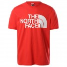 Tricou Casual Barbati The North Face Standard S/S Tee Rosu