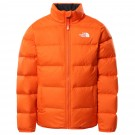 Geaca Puf Drumetie Copii The North Face YOUTH REVERSIBLE ANDES JACKET Portocaliu