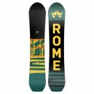 Placa Snowboard Unisex Rome Stale Crewzer 154 Multicolor