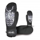 Manusi Ski Copii Level Juke Jr Mitt Black/Grey (Multicolor)
