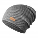 Caciula Atomic Alps Slouch Beanie Dark Grey