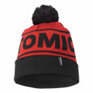 Caciula Atomic Alps Pom Beanie Dark Red/Black
