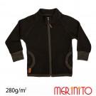 Geaca Merinito Merinos Soft Fleece K Negru