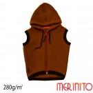 Vesta Copii Merinito Soft Fleece 100% Lana Merinos Maro