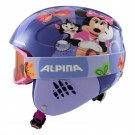 Casca si Ochelari Ski Copii Alpina Carat Disney Minnie Mouse Multicolor
