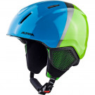 Casca Ski Alpina Carat LX green/blue/grey