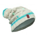 Caciula Buff Knitted & Polar Dysha Junior Alba