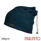 Caciula / Tub Unisex Merinito Soft Fleece 100% Lana Merinos Turcoaz