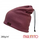 Caciula / Tub Unisex Merinito Soft Fleece 100% Lana Merinos Violet