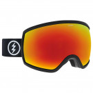 Ochelari Ski si Snowboard Electric EGG Matte Black / Brose Red Chrome + Pink