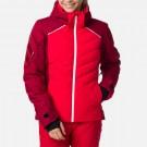 Geaca Ski Femei Rossignol W Courbe Jkt Carmin (Rosu)