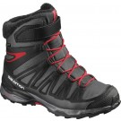 Incaltaminte Hiking Salomon X-Ultra Winter GTX J Negru