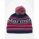 Caciula Copii Marmot Kid's Retro Pom Hat Arctic Navy/Very Berry (Multicolor)