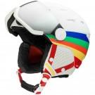 Casca Ski si Snowboard Femei Rossignol Allspeed Visor JCC Impacts Multicolor