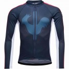 Bluza First Layer Ciclism Barbati Rossignol Bike Long Sleeves Sportchic Eclipse (Bleumarin)