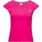 Tricou Femei Rossignol W Rossignol Tee Pink Fucshia (Roz)