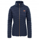 Geaca Femei Hiking The North Face Thermoball Full Zip Bleumarin