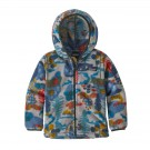 Hanorac Polar Copii 0-5 ani Patagonia Baby Synch Cardigan Wander the Woods / Drifter Grey (Multicolor)