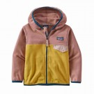 Hanorac Copii Patagonia Baby Micro D Snap-T Jkt Mountain Yellow (Multicolor)